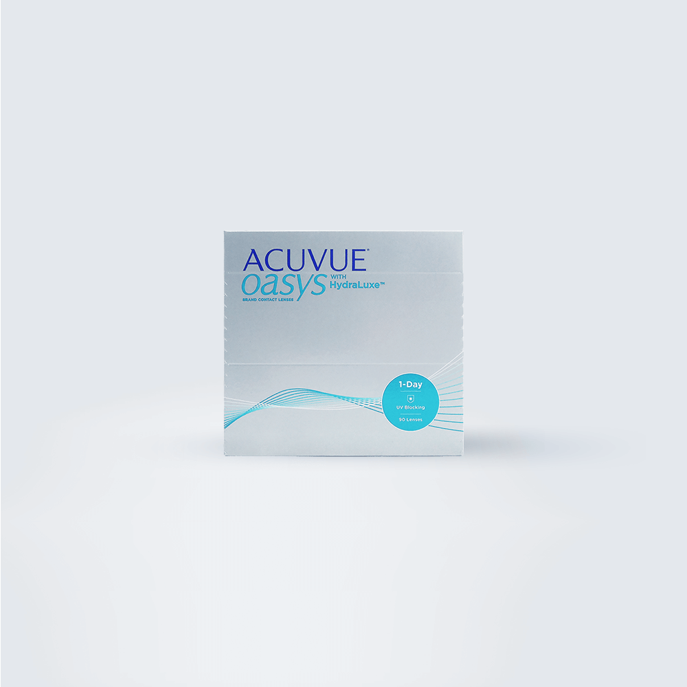 ACUVUE OASYS 1-DAY WITH HYDRALUXE 90 Pack